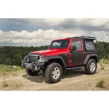 matte grey jeep wrangler 2 door rugged ridge 12300 52 magenetic body protection panel black 07