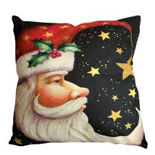 pillow case leegor christmas santa claus sofa bed home decoration