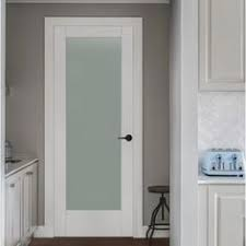 doors interior home depot interior wood door with frosted glass panel best photos image 2