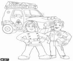 fireman sam coloring pages printable games
