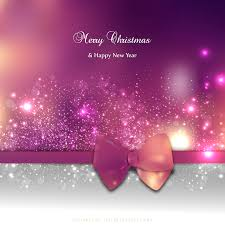pink christmas pink christmas greeting card background with bow 123freevectors