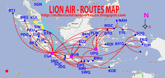 Flight Routes Map by Civil Aviation July 2011