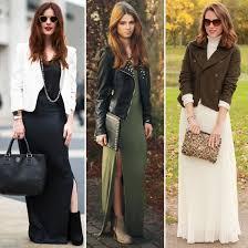 how to wear a maxi dress for winter popsugar fashion