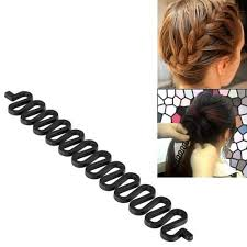 hair bun maker zodaca black hair styling accessory kit bun maker roller holder