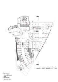basement plan gallery of arg shopping mall arsh 4d studio 24 basement
