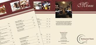 pages menu template tri fold leaflet restaurant menu istudio publisher page