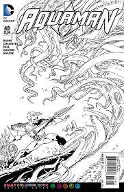 image aquaman vol 7 48 coloring book variant jpg dc database