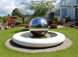 modern water feature water feature installed at uri geller s luxurious thames side home