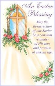 easter greeting cards religious easter blessings clipart 56