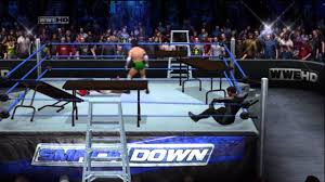 Triple Threat Flags Smackdown Vs Raw 2011 Triple Threat Tlc Match Part 1 Youtube