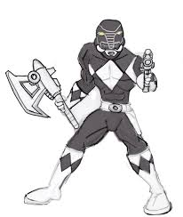 kid mighty morphin power rangers coloring pages 66