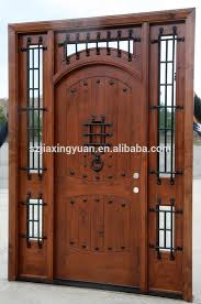 Solid Wooden Exterior Doors Modern Solid Wood Exterior Door Wholesale Exterior Door Suppliers
