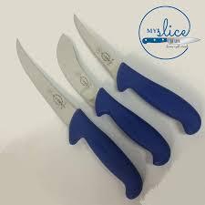 maxam kitchen knives f pro butcher 3 piece knife set butcher hunter