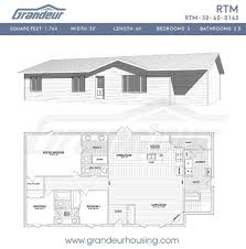 100 rtm floor plans 4 bedroom craftsman home plan