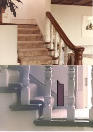 wood stairs with white risers jlc online forums