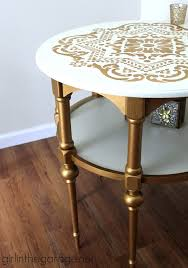 Accent Table Decor Apartment Decorating With Gold Rent Com Blog