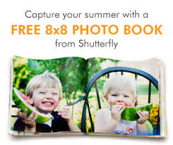 8x8 photo book free 8x8 photo book from shutterfly coupon