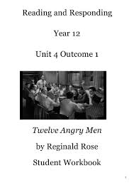 twelve angry men work book
