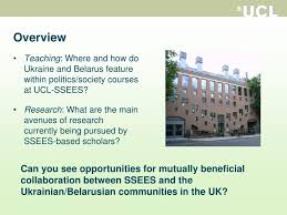 ppt studying the politics of ukraine and belarus at ucl