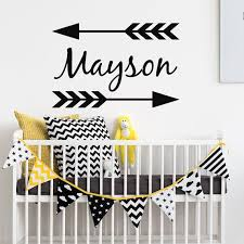 Personalized Nursery Wall Decals 10 Best Personalized Name Decor Images On Pinterest Vinyl Decals