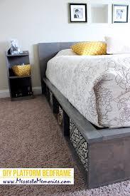 Diy Platform Bed Frame Cheap by Diy Platform Bed