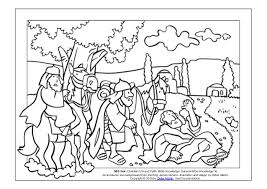 coloring page the acts of the apostles the road to damascus