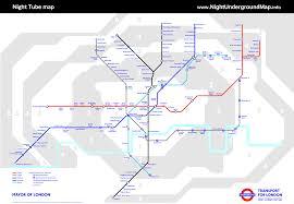 Underground Map Night London Underground Map London Tube Map With Zone 1 9