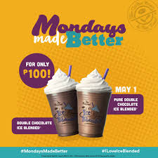 Coffee Bean Blended coffee bean mondays are better 100pesos for the featured