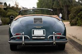 porsche classic convertible 1959 porsche 356a convertible d historic sports racing cars