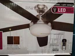 hunter avia 54 led indoor ceiling fan hunter avia ceiling fan costco outdoor ceiling fans indoor