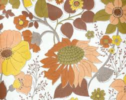 Retro Wallpaper S S From Hannahs By RetroWallpaper - Poppy wallpaper home interior
