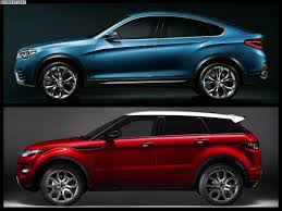 range rover concept 2017 bmw x4 vs range rover evoque photo comparison