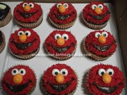 elmo cupcakes cool elmo cupcakes