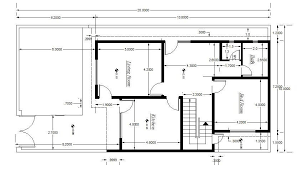 download drawing house plans in cad adhome