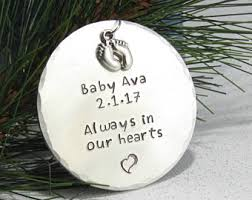 infant loss ornament baby loss ornament etsy