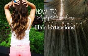 How Long Do Micro Link Hair Extensions Last by How To Apply Micro Loop Hair Extensions Youtube