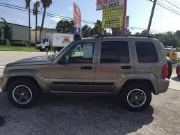 jeep liberty limited 2004 jeep liberty renegade in florida for sale used cars on