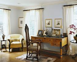 Desk Molding Antique Drapes Living Room Traditional With Crown Molding Wooden