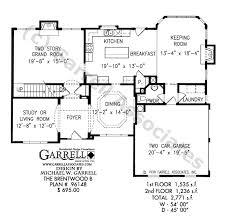 House Plans With Keeping Rooms Brentwood B House Plan Country Farmhouse Southern