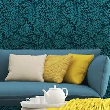 Floral Wall Stencils For Bedrooms 78 Best Flower Stencils Images On Pinterest Flower Stencils