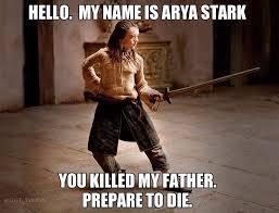 Arya Meme - arya stark of winterfell all the memes you need to see heavy com
