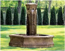 Bedroom Fountain Backyards Trendy Backyard 140 Outdoor Water Fountain Diy Chic
