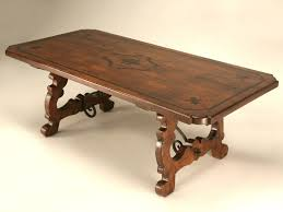 Italian Style Dining Room Furniture by Old Plank Workshop Custom Made Italian Style Dining Table