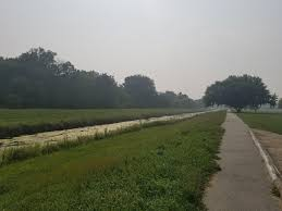 Canadian Wildland Fire Training by Canadian Wildfire Brings Hazy Conditions To Northern Illinois