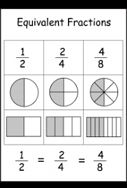 fractions u2013 equivalent free printable worksheets u2013 worksheetfun