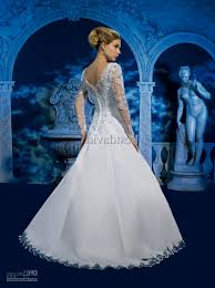 winter wedding dresses 2011 white and blue wedding dresses with sleeves naf dresses