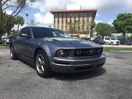 Black Mustang For Sale 2006 Ford Mustang V6 Deluxe In Hollywood Fl Cars 4 You