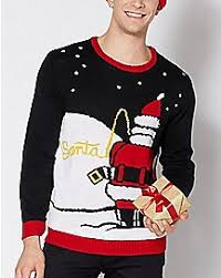mens hoodies u0026 sweatshirts ugly christmas sweater spencer u0027s