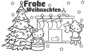 christmas in germany coloring pages