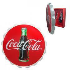 schluesselkasten design coca cola schlüsselkasten im kronkorken design